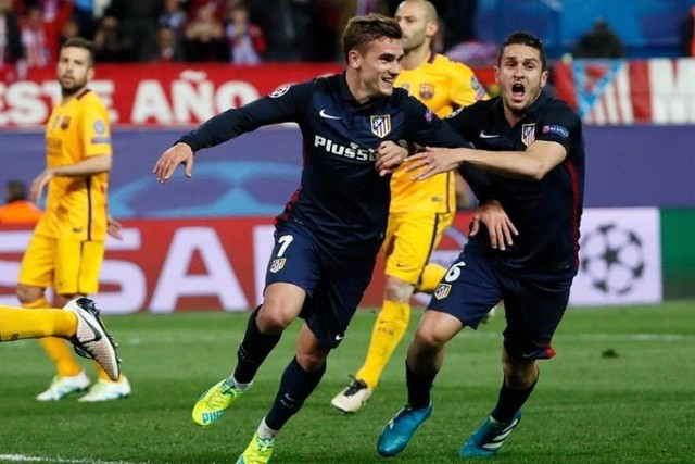 Un gran Atlético marca, resiste y elimina al Barcelona