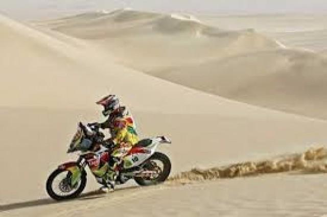 """""""Chavo"""" Salvatierra concluye el Rally de Qatar en cuarta posición"""