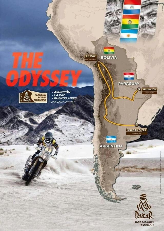 Paraguay se suma en 2017 al Dakar, que sigue en Argentina y Bolivia