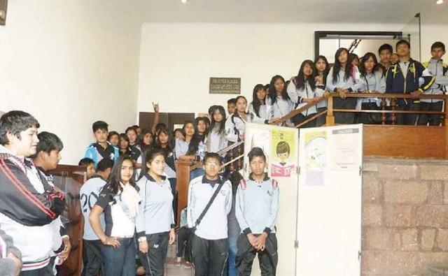 Rally del Saber convocó a siete colegios de la Capital