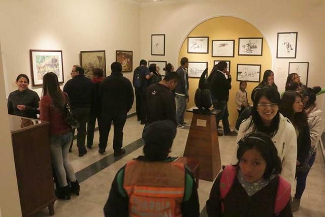 Masiva respuesta del público sucrense en noche de museos