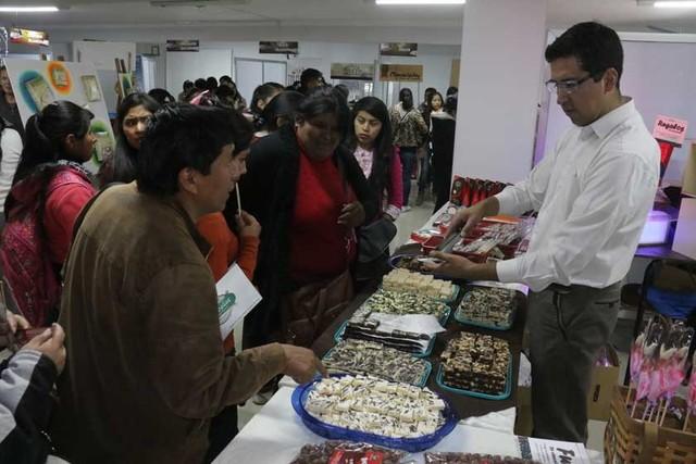 Chocolateros mejoran sus ventas en festival