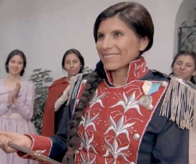 A partir de hoy proyectan filme sobre Juana Azurduy