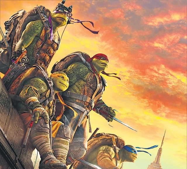 Ninja Turtles 2: Fuera de las sombras (2016)