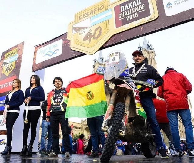 ''Chavo'' Salvatierra finaliza el Desafío Ruta 40 en el sexto lugar