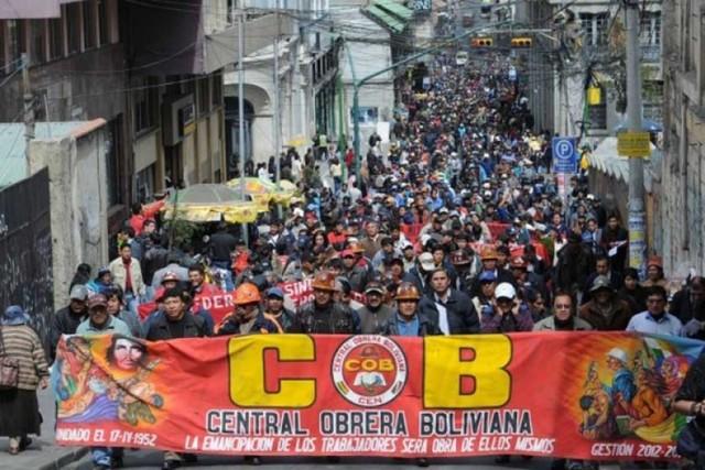 COB anuncia paro de 72 horas desde el miércoles; Gobierno pide diálogo
