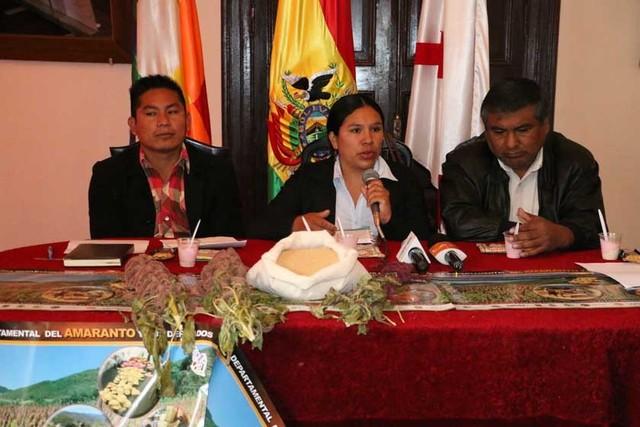Feria en Sucre reunirá a productores de amaranto