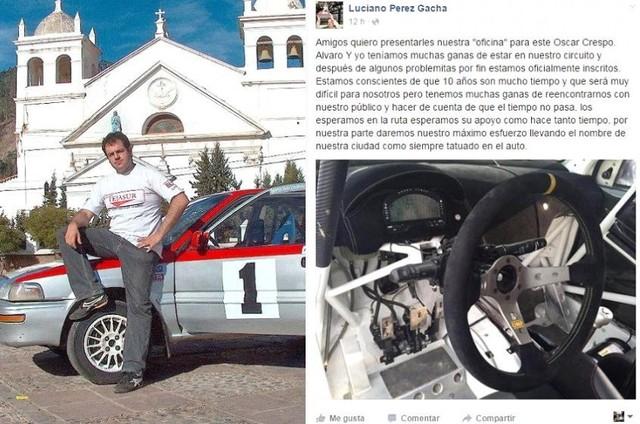 El ex campeón nacional Luciano Pérez confirma su retorno a las rutas