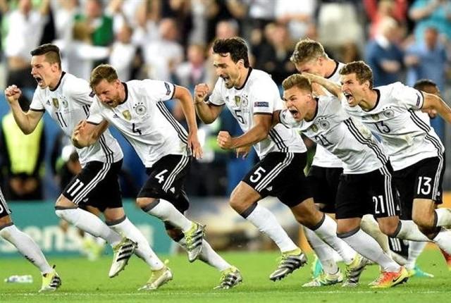Alemania rompe maldición con tanda de penales y es semifinalista