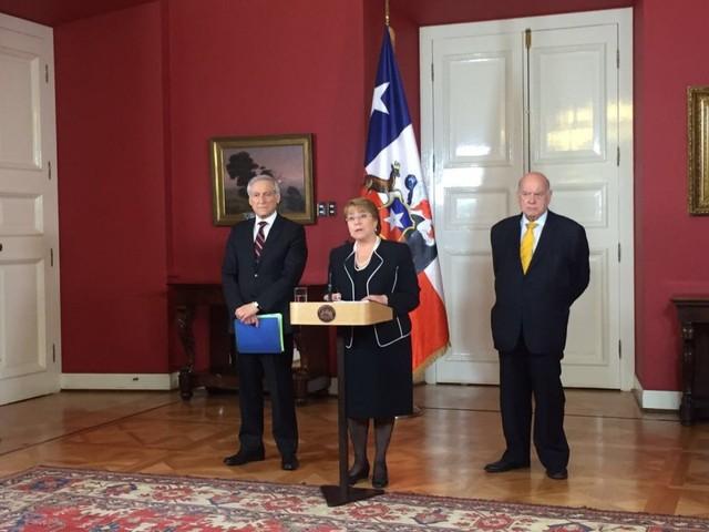 Bachelet: Chile demostrará que no hay obligación de negociar con Bolivia una salida soberana al mar