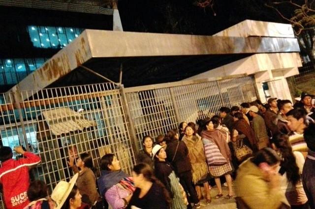 Ordenan detención preventiva para ocho dirigentes del transporte pesado de Chuquisaca
