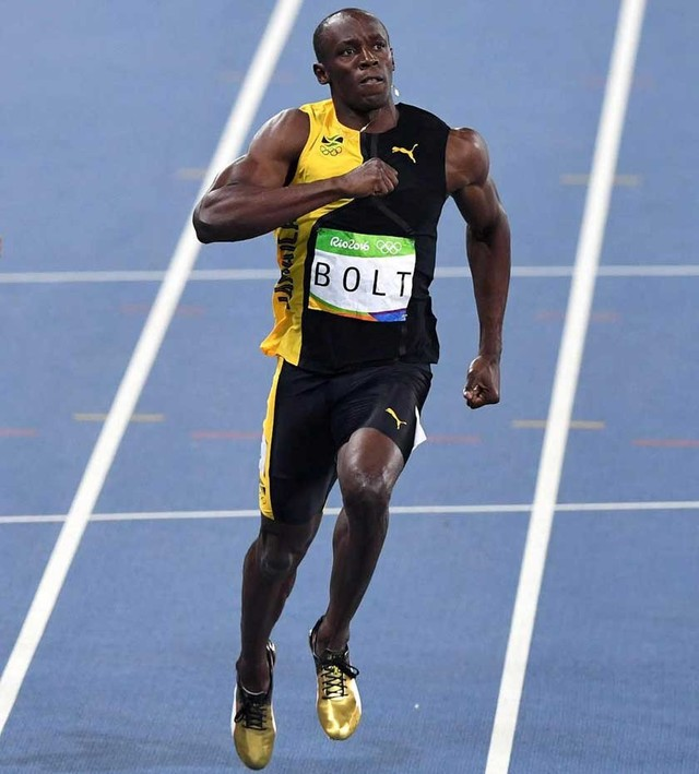 Bolt tricampeón