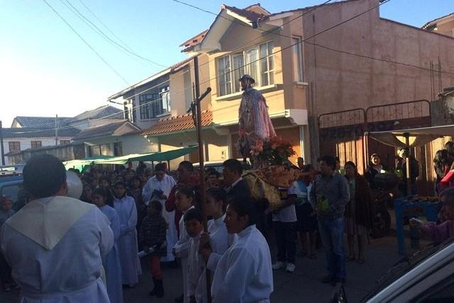 Sucre: Una serenata recibirá esta noche a la festividad de San Roque