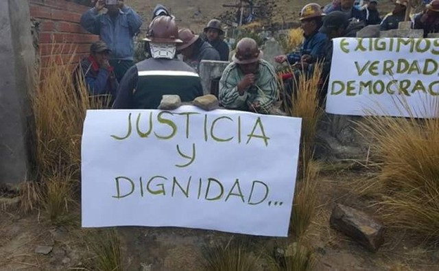 Cuatro fiscales se hacen cargo de investigar muerte de dos mineros