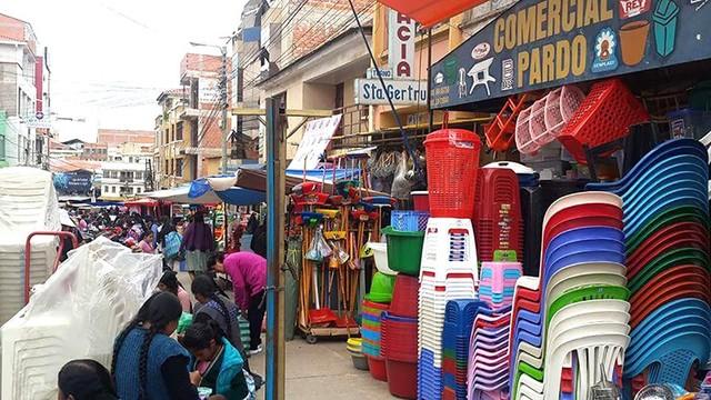 Mercado Campesino: El poder paceño en la economía sucrense