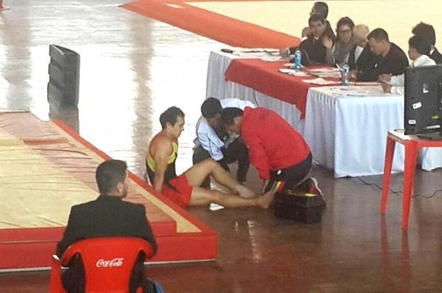 Alejandro Chumacero se lesiona y queda fuera del Panamericano de Gimnasia