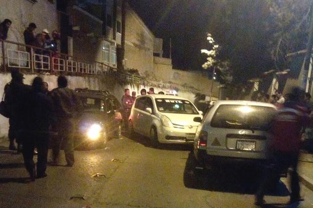 Persecución policial con disparos provoca susto en plena vía pública de Sucre