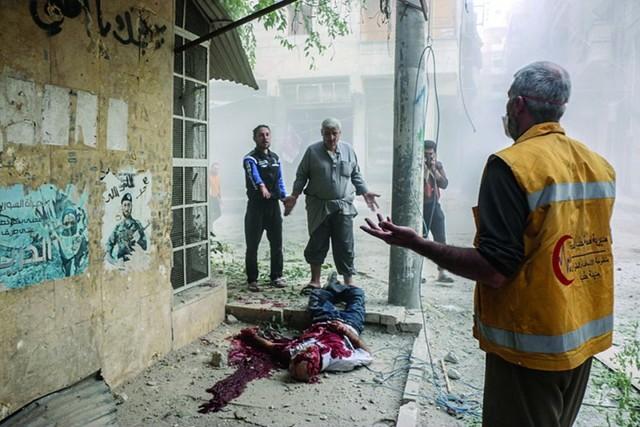 """Alepo, la """"Guernica siria"""", sufre una catástrofe en pleno Siglo XXI"""