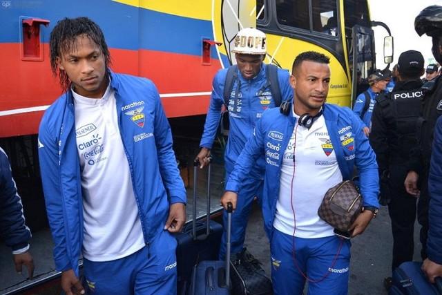 Eliminatorias: La selección ecuatoriana ya está en La Paz