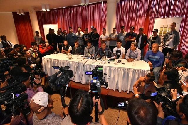 Fabol exige la renuncia Rolando López y pide la intervención al fútbol nacional
