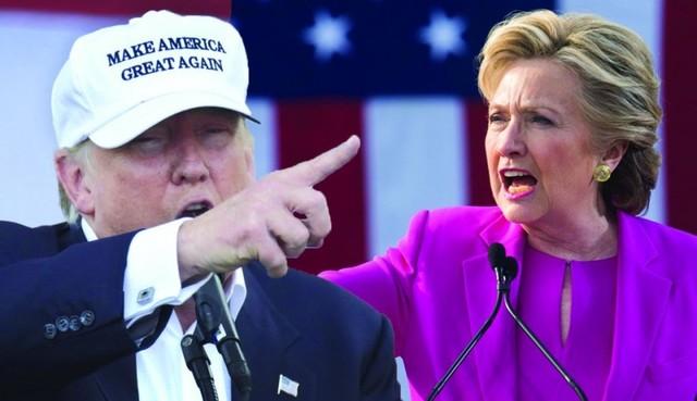 Clinton y Trump, cara o cruz