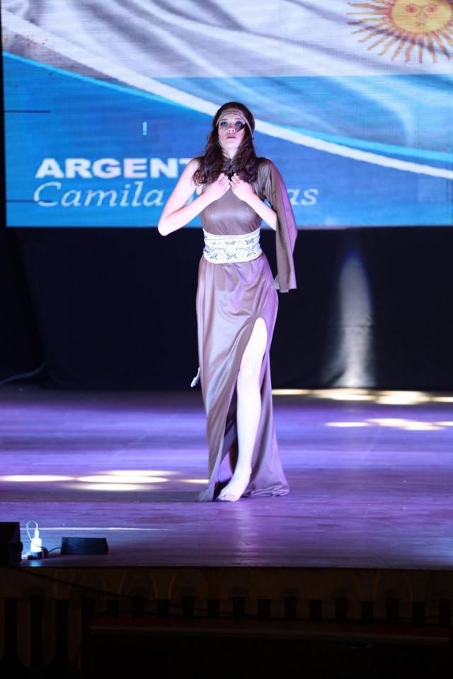Reina Hispanoamericana en Sucre y Potosí