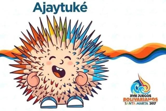 """Colombia presenta a """"Ajaytuké"""", la mascota de los XVIII Juegos Bolivarianos"""