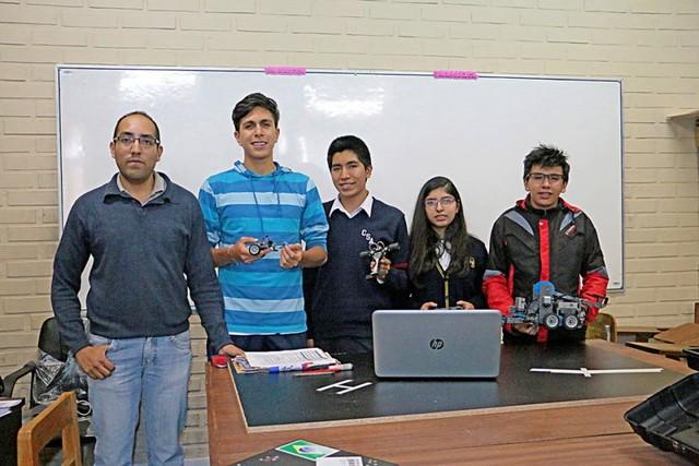 Chuquisaca, el equipo que va al mundial de robótica