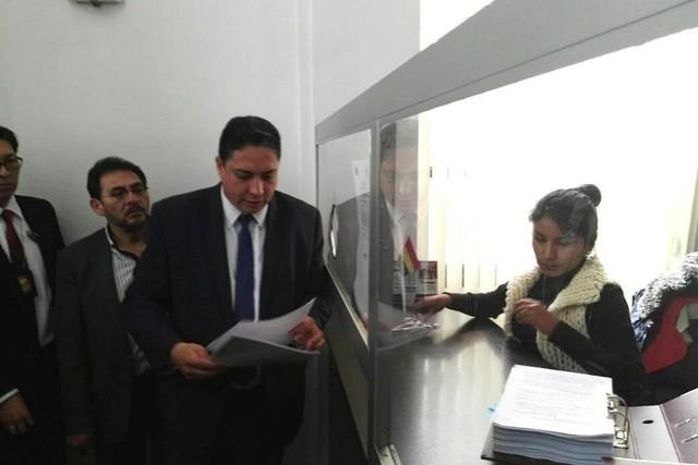 Ministerio de Justicia presenta denuncia penal contra 16 funcionarios por tema taladros