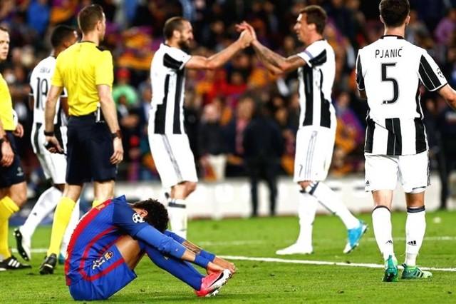 No hubo remontada del Barça en el último partido europeo de Luis Enrique