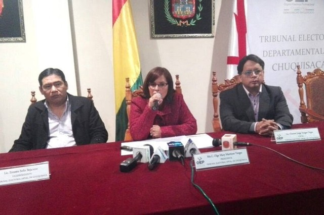TED Chuquisaca invita a ciudadanos de Huacaya y Macharetí a empadronarse