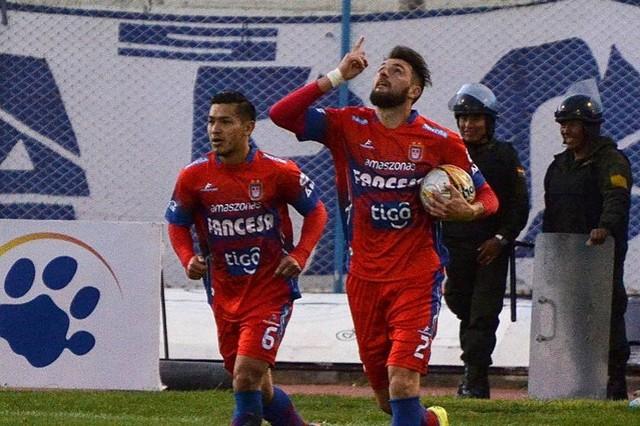 Universitario le saca un punto a San José con un empate a tres goles en Oruro