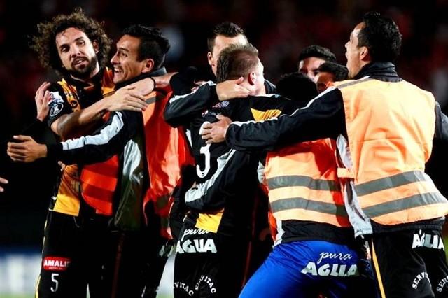 The Strongest empata en Colombia y avanza a octavos de final de la Libertadores
