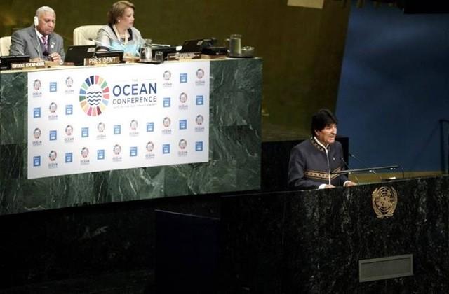 """Chile acusa a Bolivia de """"instrumentalizar"""" Conferencia sobre Océanos de la ONU"""