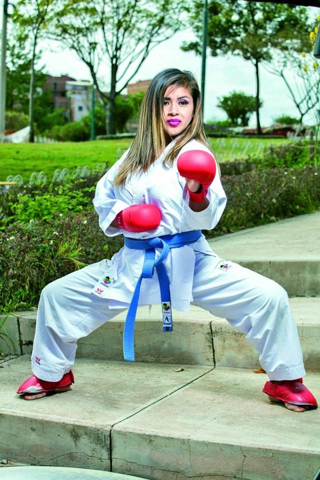 Primero está mi pasión por el karate