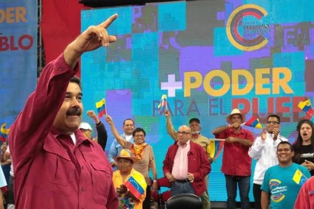 """Maduro amenaza con ir a las armas para hacer """"lo que no se pudo con votos"""""""