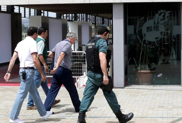 El presidente de la Federación Española de Fútbol es detenido por presunta corrupción