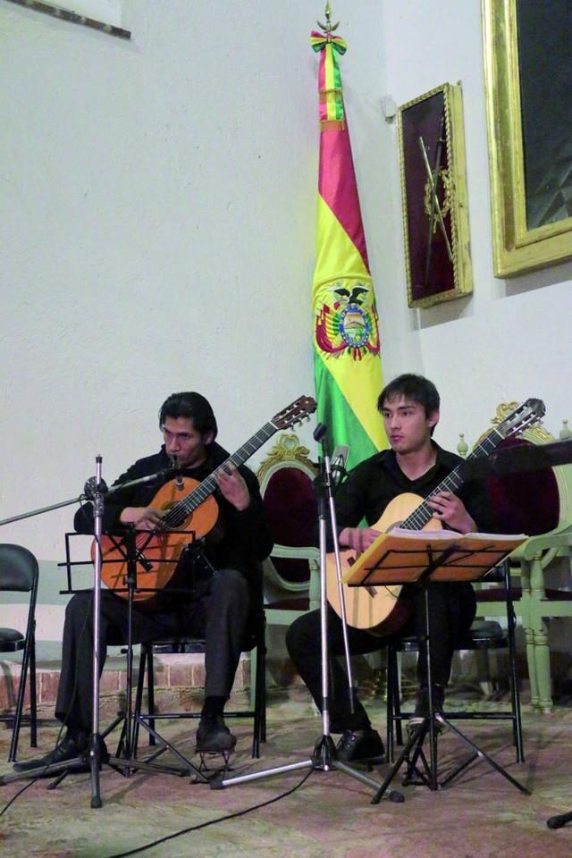 Concluye el festival de guitarras en Sucre
