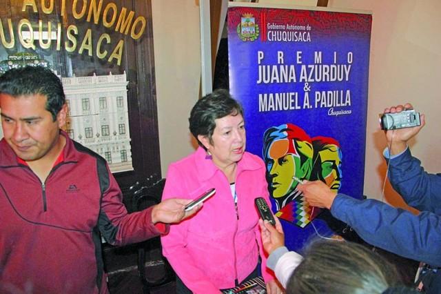 Lanzan convocatoria del Premio Juana Azurduy