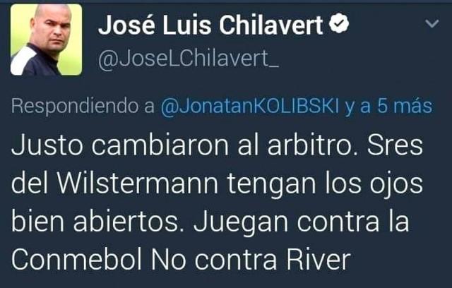 Chilavert advierte que Wilstermann juega contra la Conmebol