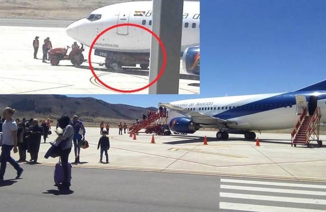Alcantarí: Avión de BoA colisiona con coche transportador de maletas y suspende su vuelo