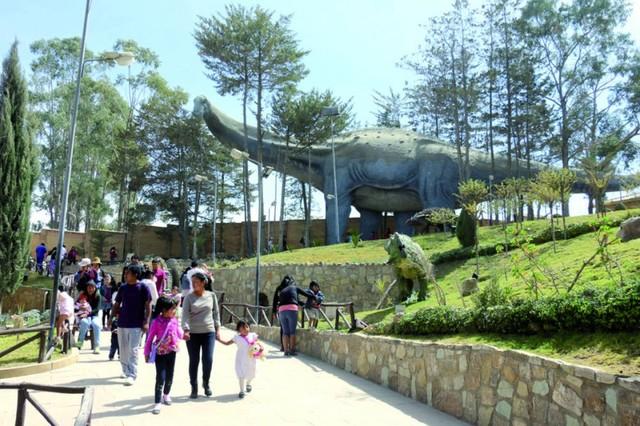 Parque Cretácico, cerca de batir récord de visitas