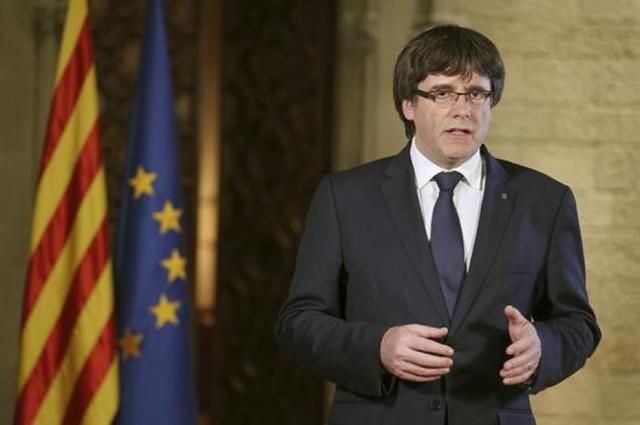 "Puigdemont advierte intento de ""liquidar"" autonomía catalana"