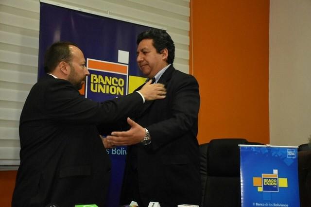 Rolando Marín asume la gerencia general del Banco Unión