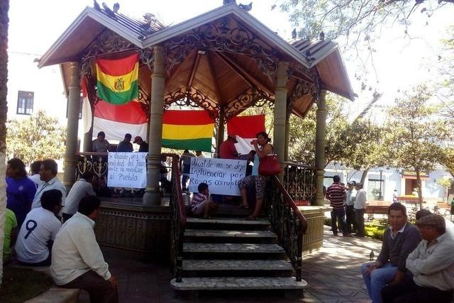 Tarija: Micreros instalan huelga pidiendo alza de pasaje y diálogo se aleja