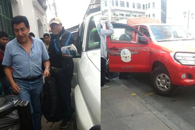 Comisión con Vicerrector de San Francisco Xavier viaja a Monteagudo