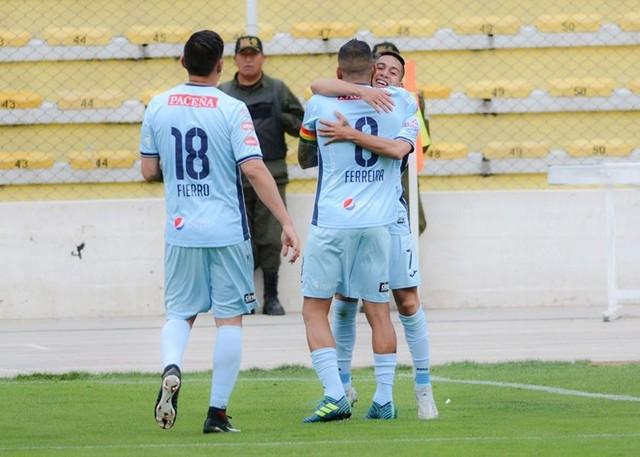 Bolívar gana con lo justo a Real Potosí y recupera punta del Clausura