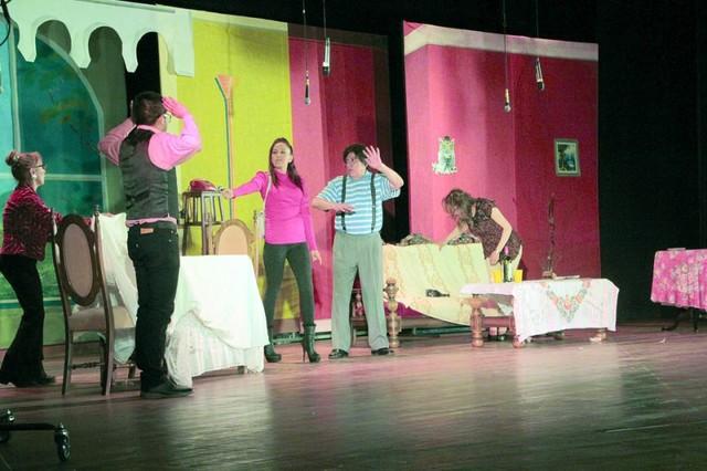 Santalla y Saavedra, un amor de teatro en Sucre