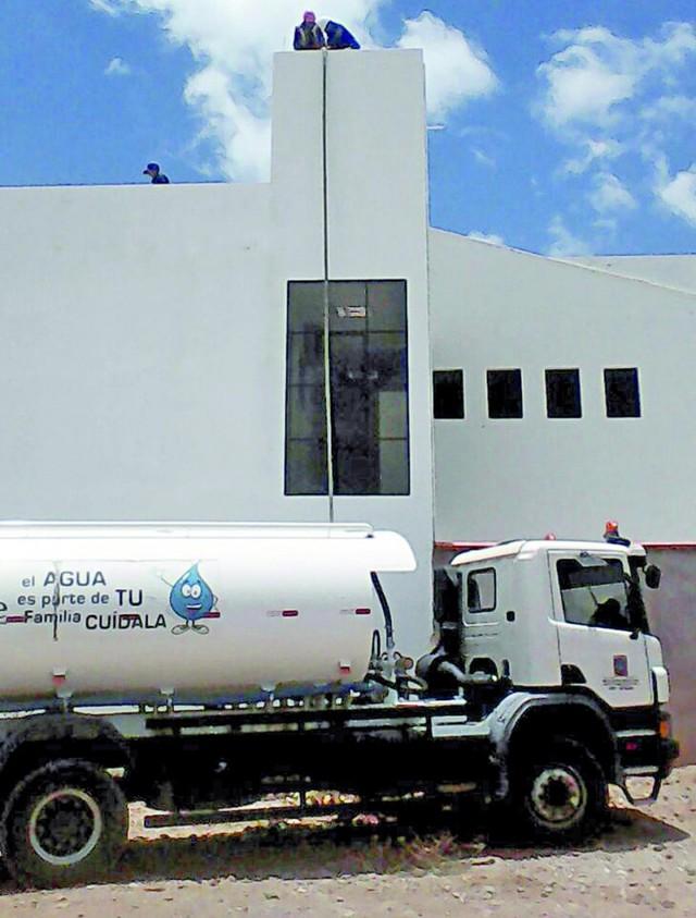 Sucre se declara en emergencia por una crítica escasez de agua