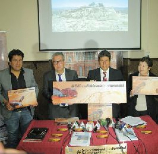 Resta delimitación del farallón para el trámite en la Unesco